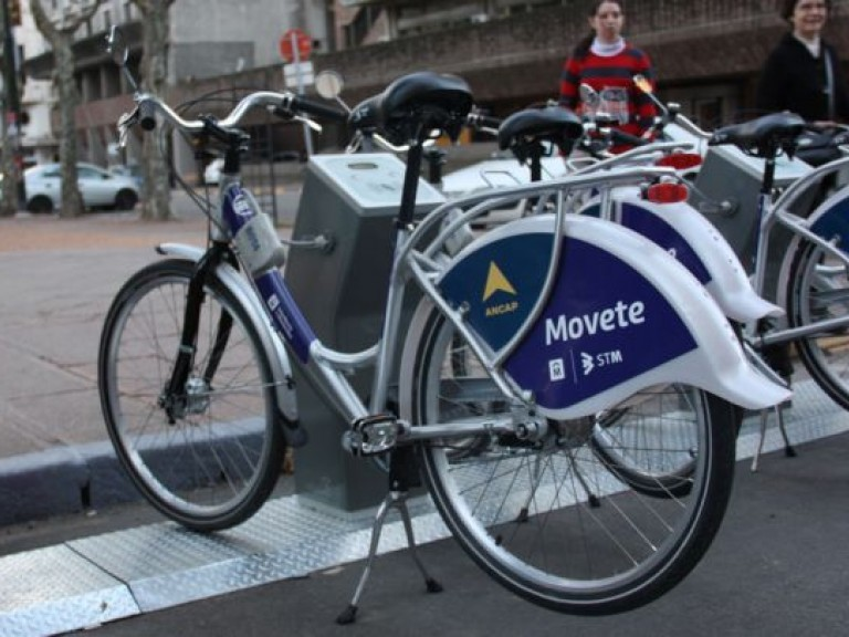 Public Bicycles in Montevideo